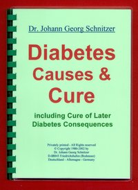 Diabetes Causes & Cure