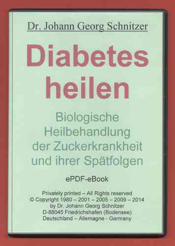 eBook Diabetes heilen